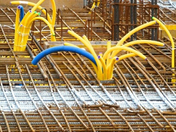Los plásticos en la industria de la construcción